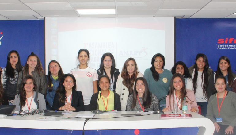 Primera Asamblea de Fútbol Femenino