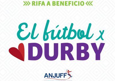 CAMPAÑA. EL FÚTBOL POR DURBY