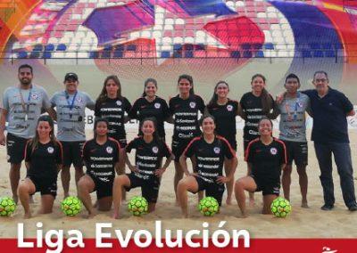 Liga Evolución de Fútbol Playa Femenino