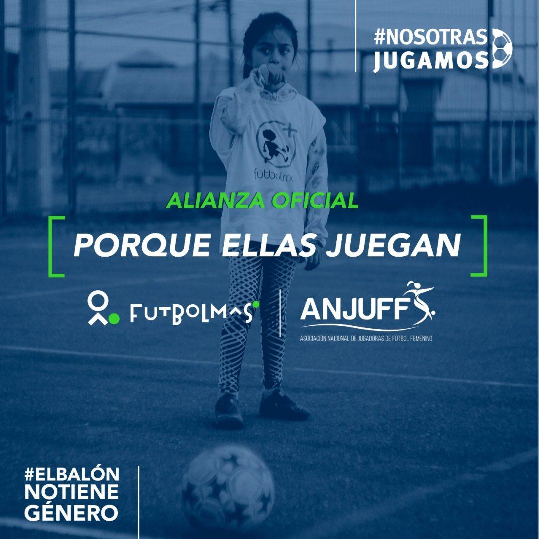 Alianza ANJUFF y Fútbol Más
